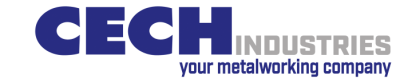 CECH INDUSTRIES – your metalworking company Logo